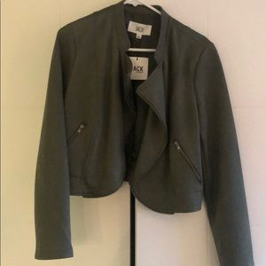 Faux suede JACK green jacket - brand new